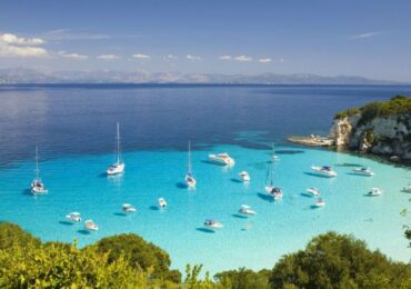 Paxos Island a must trip from Corfu