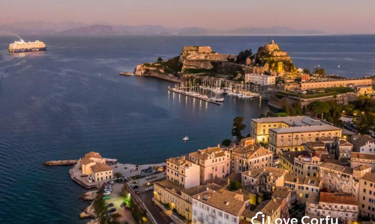 Corfu in the springtime