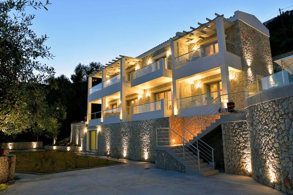 ilovecorfu villa Athiri at the North Corfu